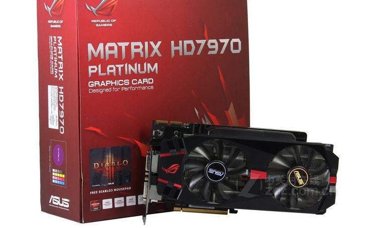 华硕Matrix HD7970白金版