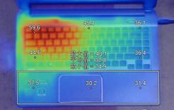 高负荷状态下C面温度分布图