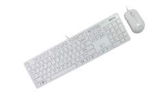 明基BV520白色恋人键鼠套装
