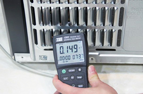 三星多门冰箱辐射测试