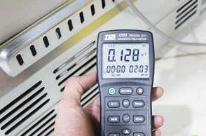 容声多门冰箱辐射测试