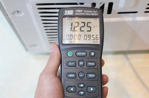 倍科多门冰箱辐射测试