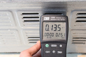 美菱多门冰箱辐射测试