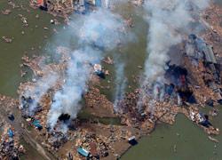 9级地震后的日本仙台
