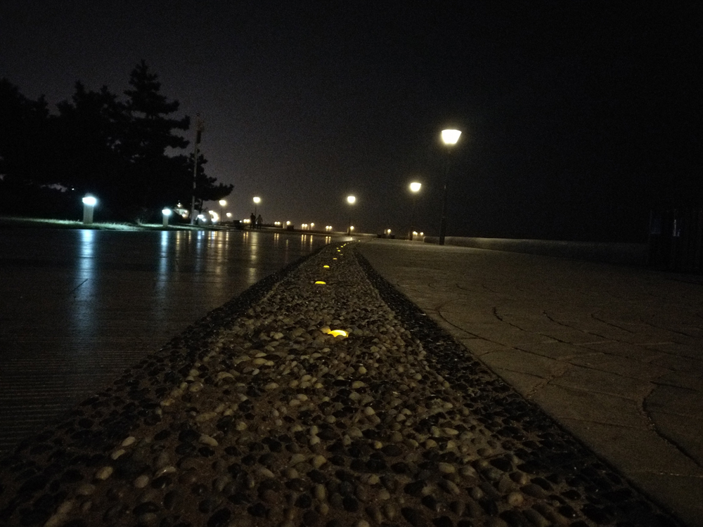 冬夜海边3