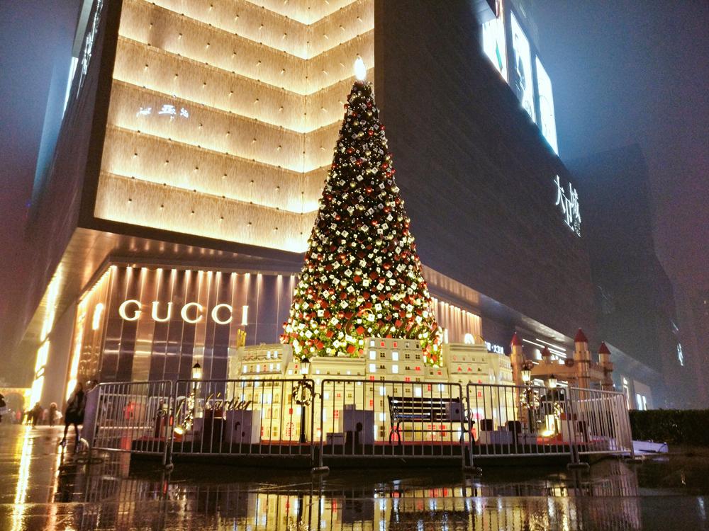 巨型圣诞树