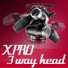 X-PRO三向云台震撼登场 完美搭配新055/新190系列脚架