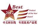 ZOL:年度优秀产品奖