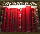 细腻的红绸缎