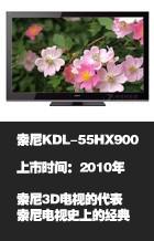 索尼KDL-55HX900 3D电视