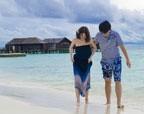 我在马尔代夫和丽江的蜜月随拍