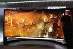 三星105吋最大曲面电视