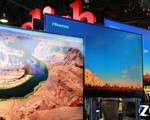 海信展台全球最大110英寸