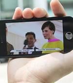 iPhone 5观看视频