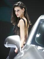 2014北京车展外国模特