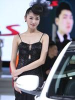 东风悦达起亚展台模特