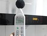 工作噪音测试66dB