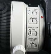 IS光学防抖功能在长焦端拍摄时非常有用