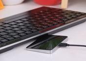 雷柏E9090P触控式炫光键盘