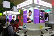 众WP8手机云集微软展台