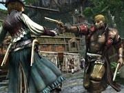 《刺客信条4》多人游戏截图 女海盗是用来野战的