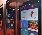 YunOS展神奇双屏互联网冰箱