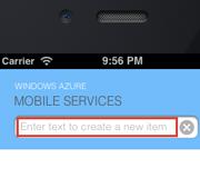 创建iOS移动后端