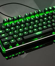 精灵雷神之锤绿光版机械键盘