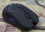 精灵雷神X1裂纹版游戏鼠标