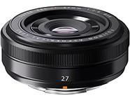富士XF27mm f/2.8镜头