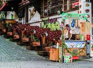 土耳其冰淇淋小贩