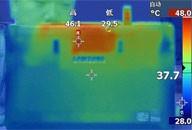 运行《Dota》游戏15分钟后温度实测成绩