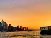 标题:香港维多利亚港美景<br/> 型号:小米M2<br/> 作者:失意的飘落者