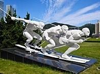 标题:大连星海运动雕像<br/> 型号:N8<br/> 作者:txfzq