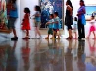 标题:参观中国美术馆<br/> 型号:诺基亚808<br/> 作者:心照不喧
