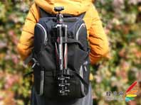 Befree 旅行者背包与Befree 碳纤维旅行三脚架