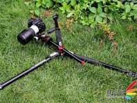 MK055XPRO3-3W三脚架低角度拍摄