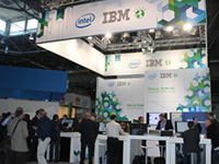 IBM展区