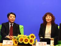 CBSi刘克丽访高通副总裁王翔