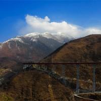 雅西高速干海子钢架桥