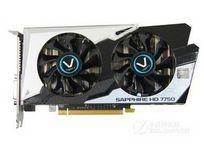 蓝宝石HD7750 1G GDDR5 黑钻版 OC