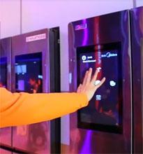 YunOS神奇双屏互联网冰箱