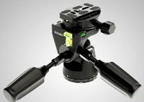 INDURO英拓PHQ1 专业摄影通用型单反三脚架云台 精确稳定五维云台