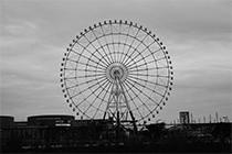东京随处可见的摩天轮