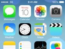 全新设计的iOS7系统界面展示