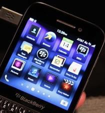 黑莓Q5系统界面