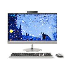 AIO 520-24IKU 23.8英寸一体机<br>I3-6006U/Windows 10 家庭版/23.8英寸/4G/1T/独立显卡/银色