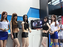 CJ现场的Intel与美女