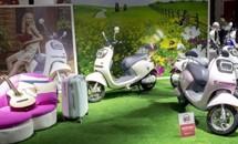 南京展上的异国风情 新蕾众款电动新车