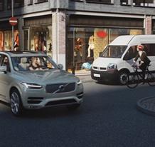 沃尔沃车辆和骑行者互联技术